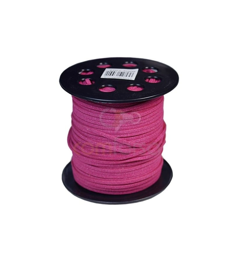 Imitation Suede Fuchsia 2.5mm (meters) Standar Quality