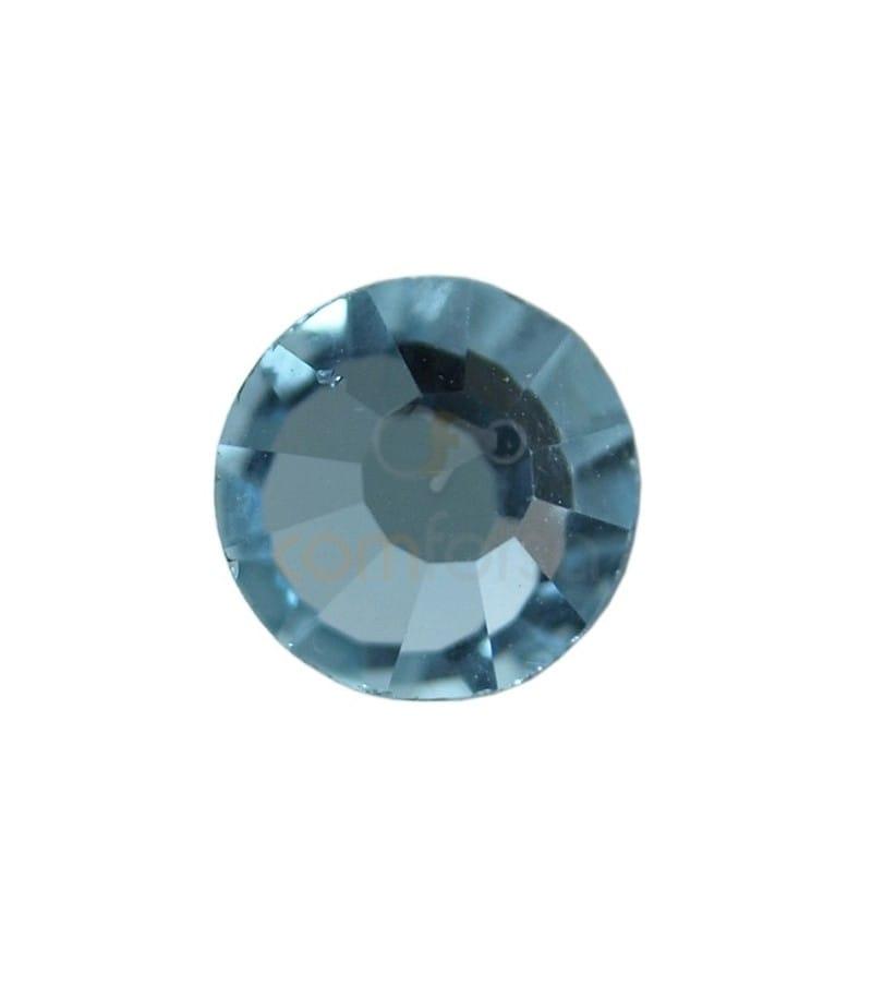 Cristal MC Chaton ROSE VIVA 12 de PRECIOSA ® 7 mm Aqua bohemica