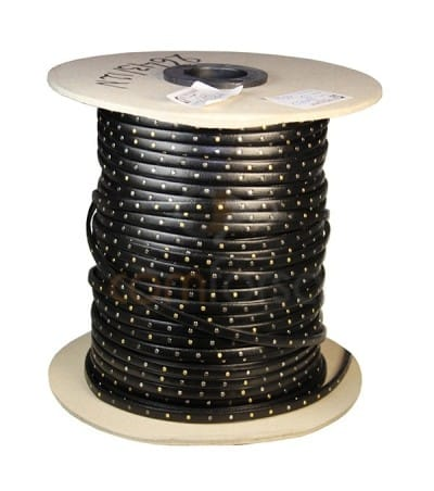 Stud leather black (studs in three colours)  5 mm