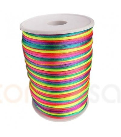 Coloring Sateen Thread 2mm