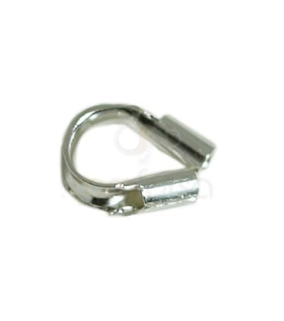 Sterling silver 925 wire guards 4 x 3 mm