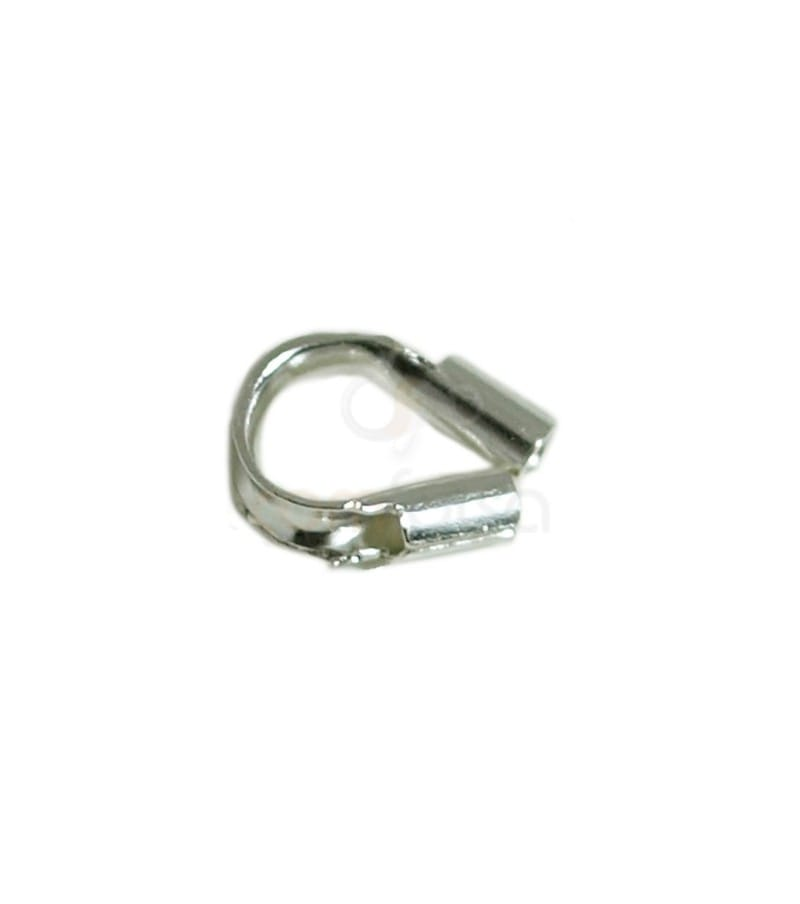 Wire guards 5.4 x 4 (0.6 int ) mm Silver