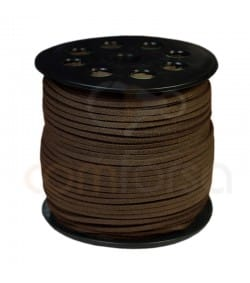 Imitation Suede Brown Cord 2.5mm Standard