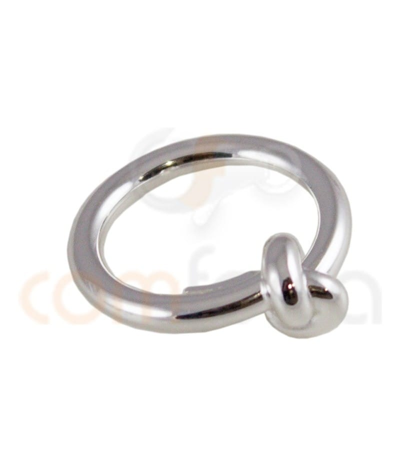 Sterling silver 925 knot ring