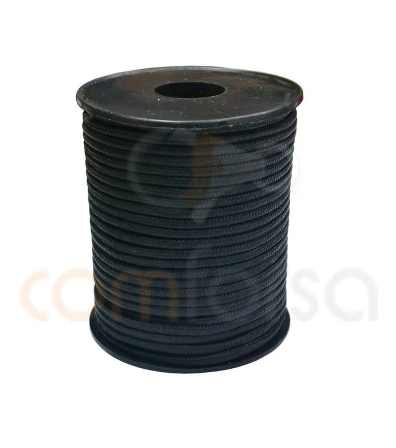 Paracord 3 mm Black