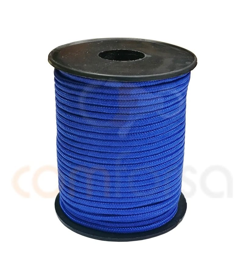 Paracord 3 mm Electric blue