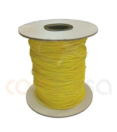 Nylon trenzado 1mm (metros) Amarillo