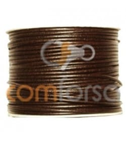 Cuero marrón 2.5 mm Calidad premium