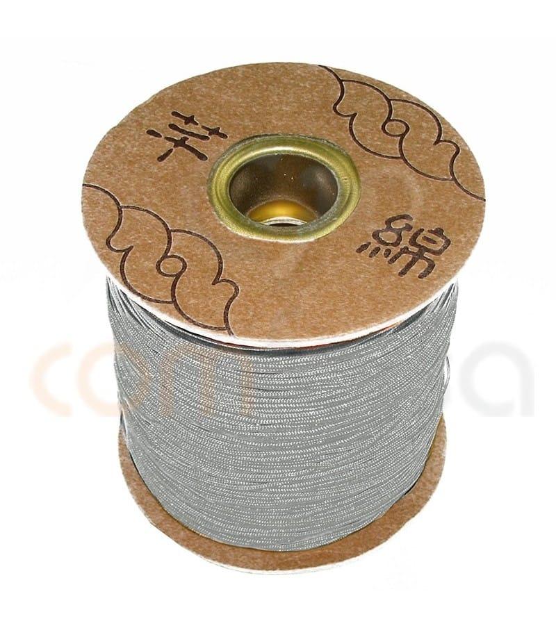 Grey braided nylon 1.5mm