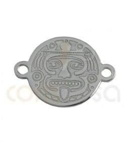 Sterling silver mexican Tatum connector 10 mm