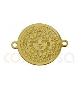 Entrepieza moneda sol 14.5 mm plata 925