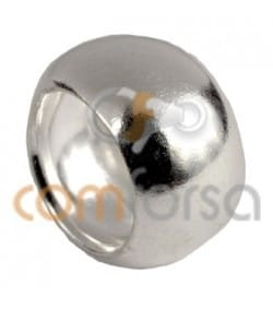 Sterling silver 925 spacer bead 6 mm
