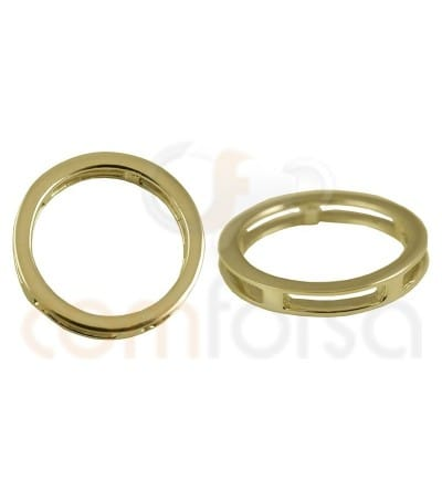 Sterling silver 925 circle spacer 20 mm