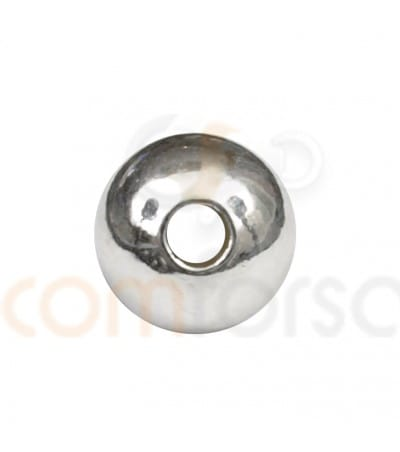 Bola lisa 6 mm plata 925 ml