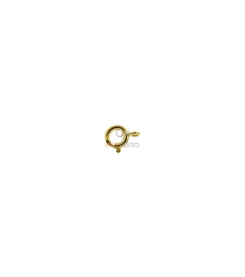 Reasa reforzada 8 mm gold filled