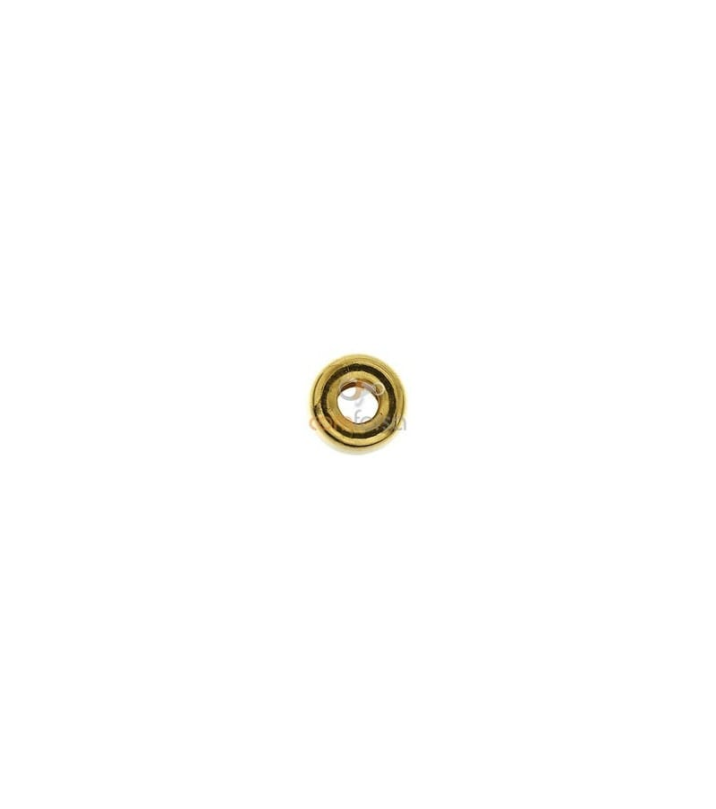 Donut 5 mm ( 2.0 mm interior ) gold filled