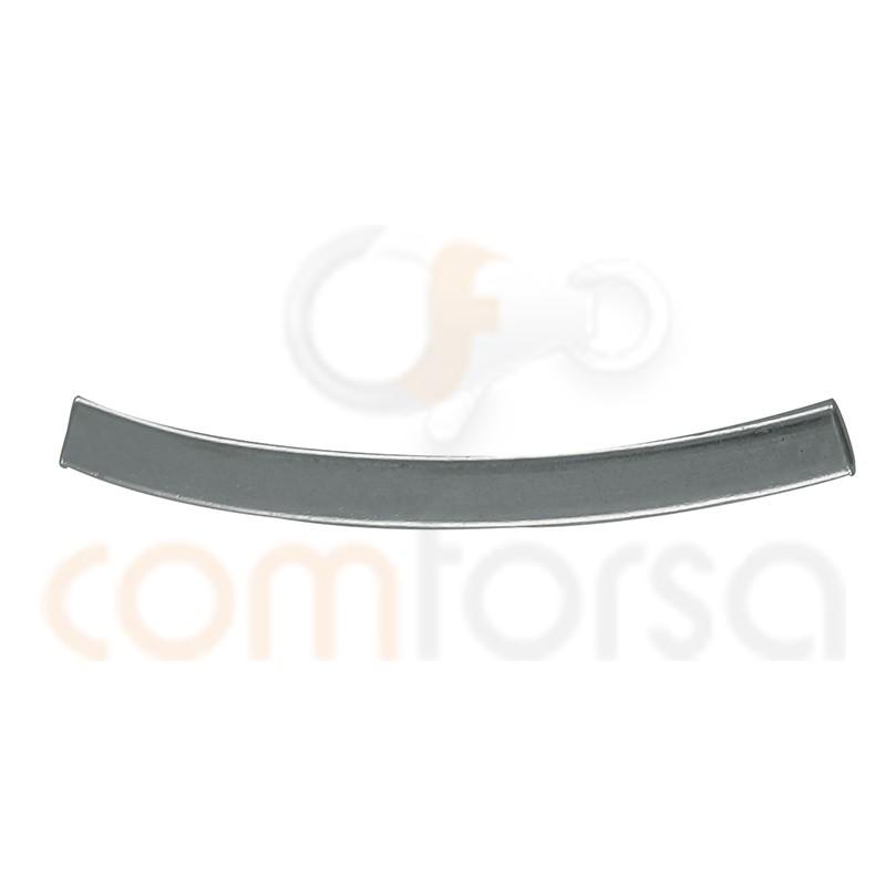 Tubo Cuadrado Curvado 2 mm (ext.) X 20 mm