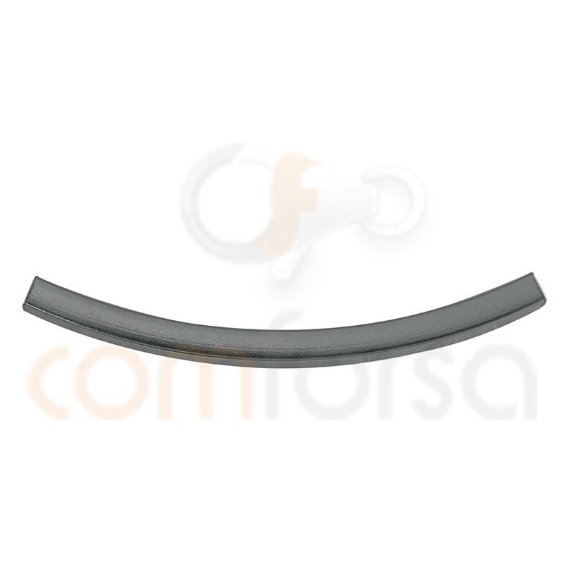 Tubo Cuadrado Curvado 2 mm (ext.) X 30 mm