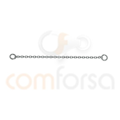 Sterling silver 925 Fine chain 60 mm