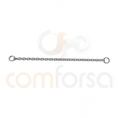Sterling silver 925 Thick Safety chain 56 mm