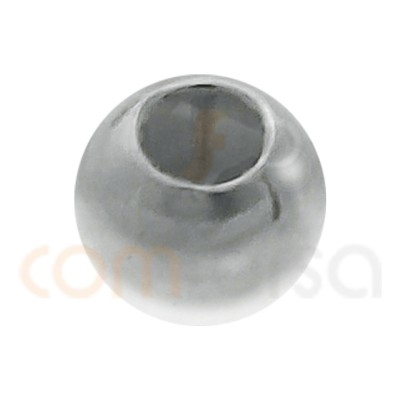 Sterling silver 925 smooth ball 2.5 mm