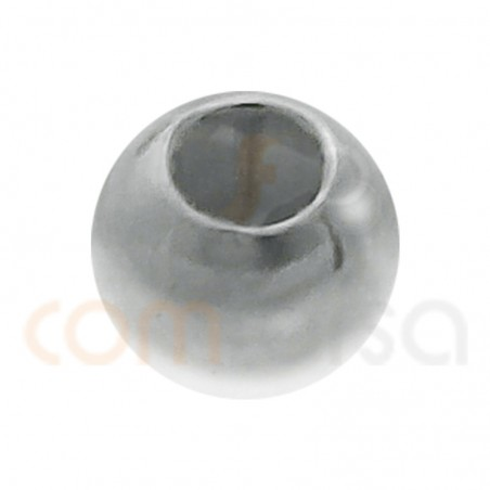 Bola lisa 2.5mm plata 925 ml