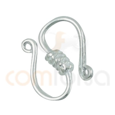 """""""Sterling silver 925 """"""""Neckalce """"""""s"""""""" shape hook"""""""""""""""