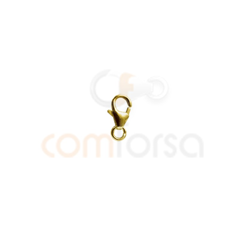 Trigger Lobster clasps With Jump ring.5 x 8 mm gold filled 14/20