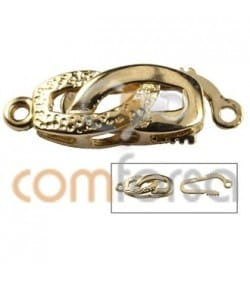 Sterling silver gold plated 925 clasp