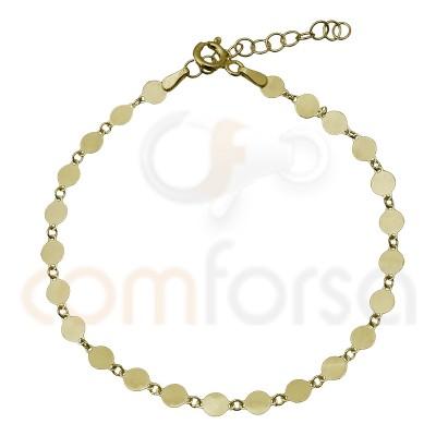 Sterling silver 925 pendant bracelet 18 + 3 cm