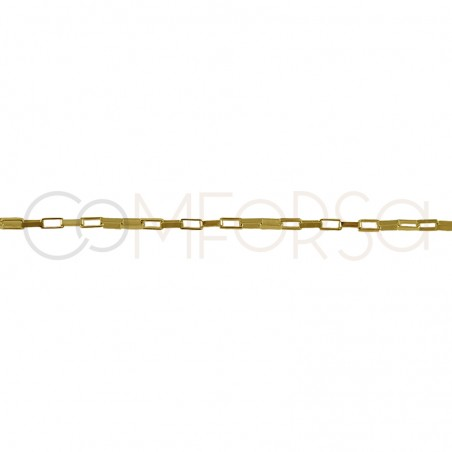 Sterling silver 925 gold-plated Venetian chain thin