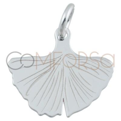 Sterling silver 925 mermaid tail pendant 14 x 12mm