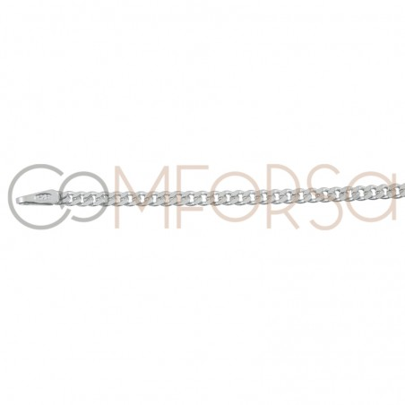 Sterling silver 925ml barbada chain 2.1mm