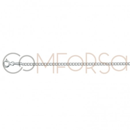 Sterling silver 925ml barbada chain 1.2 mm