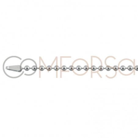 Sterling silver 925ml ball chain 2mm