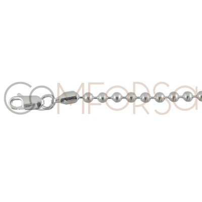 Sterling silver 925ml ball chain 3.5mm