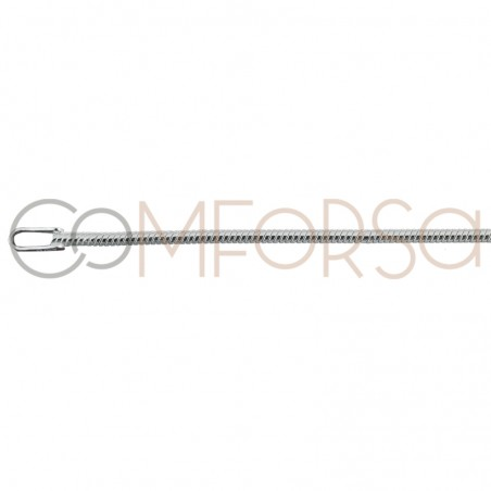 Sterling silver 925ml round snake chain 1.4 mm