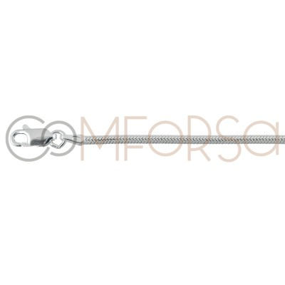 Sterling silver 925ml round snake chain 2 mm