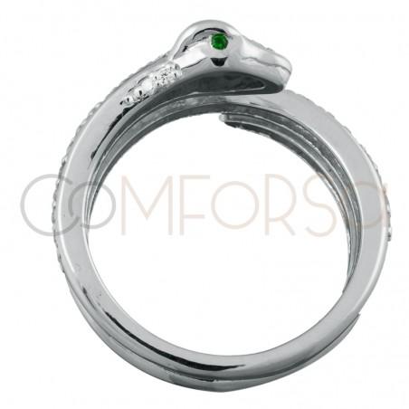 Sterling silver 925 snake ring