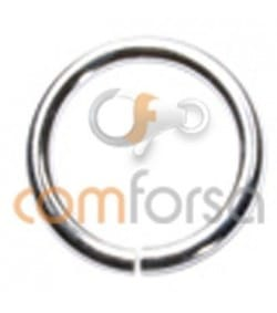 Sterling silver 925 open jump ring 10 mm