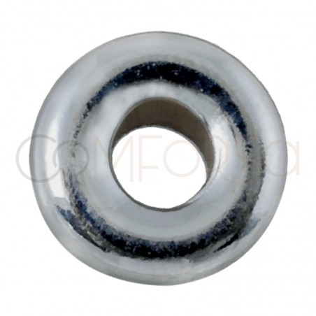 Sterling silver 925 Roundel 5 mm (1.8 int)