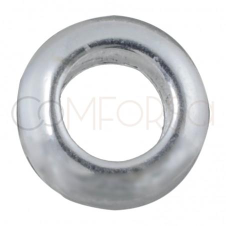 Sterling Silver 925 Donut 5.7 x 3mm (int. 3,2mm)
