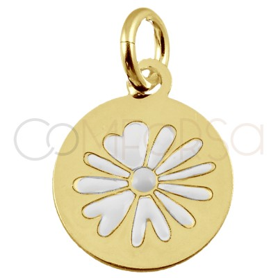Sterling silver 925 flower...