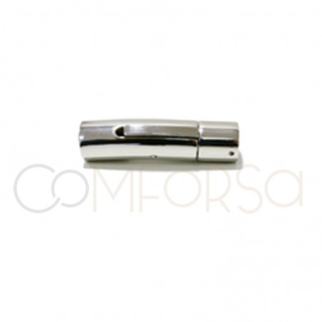 Steel clasp with magnet 30.5 x 9.38 mm (Ø 8)