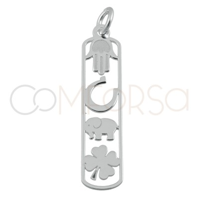 Sterling silver 925 lucky...