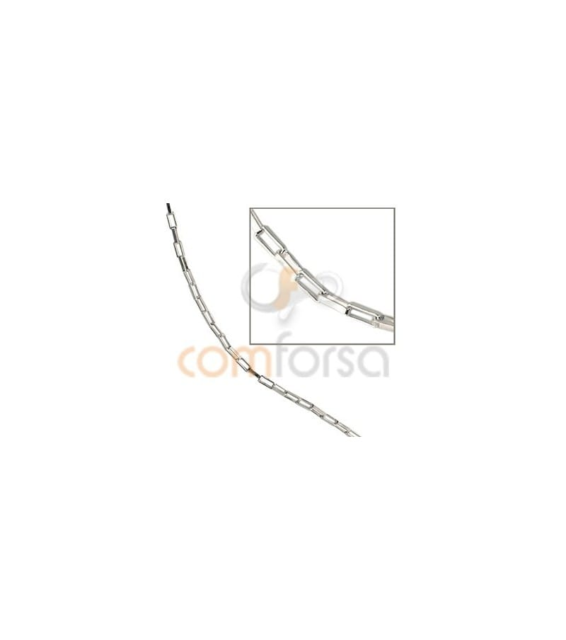Sterling silver 925 Venetian chain extra weight 4.7 x 2.7 mm
