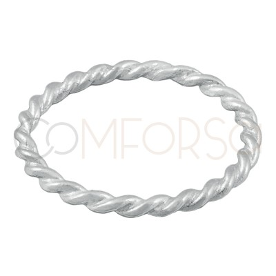 Sterling silver 925 braided...