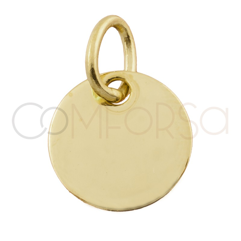 Engraving + Medallion 15mm with Jump Ring (alloy)