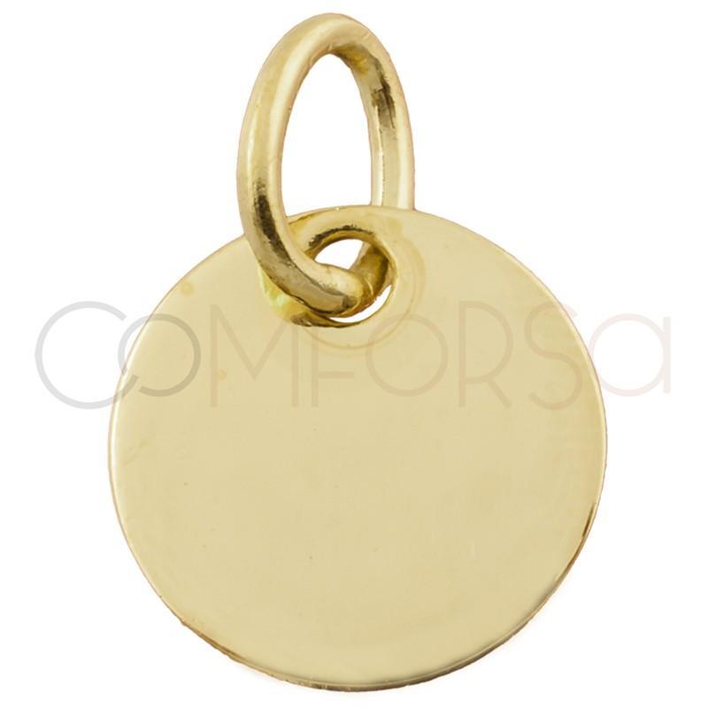 Medalla 20 mm con anilla (aleación)