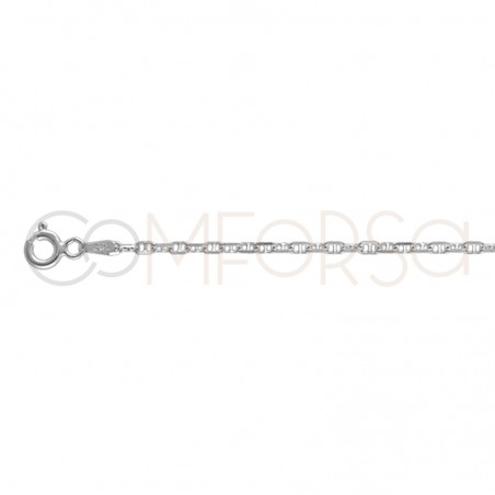 Sterling silver 925 belcher chain 3.5 x 2.1 mm